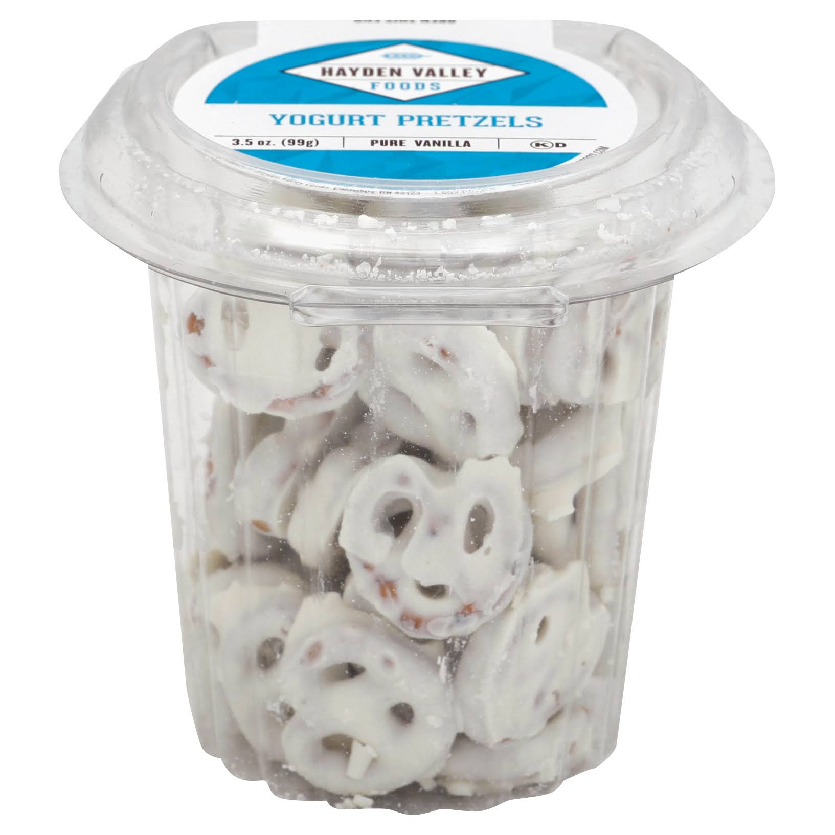 Hayden Valley Pretzels, Yogurt, Pure Vanilla - 3.5 oz