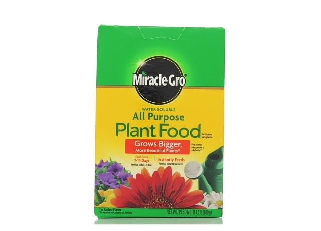 Miracle Gro Water Soluble All-Purpose Plant Food - 1.5lb