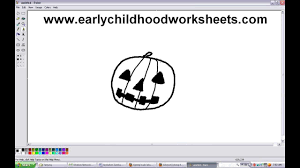 Steps To Carve A Pumpkin Worksheet by How To Draw A Pumpkin Easy Step By Step For Kindergarten Kids
