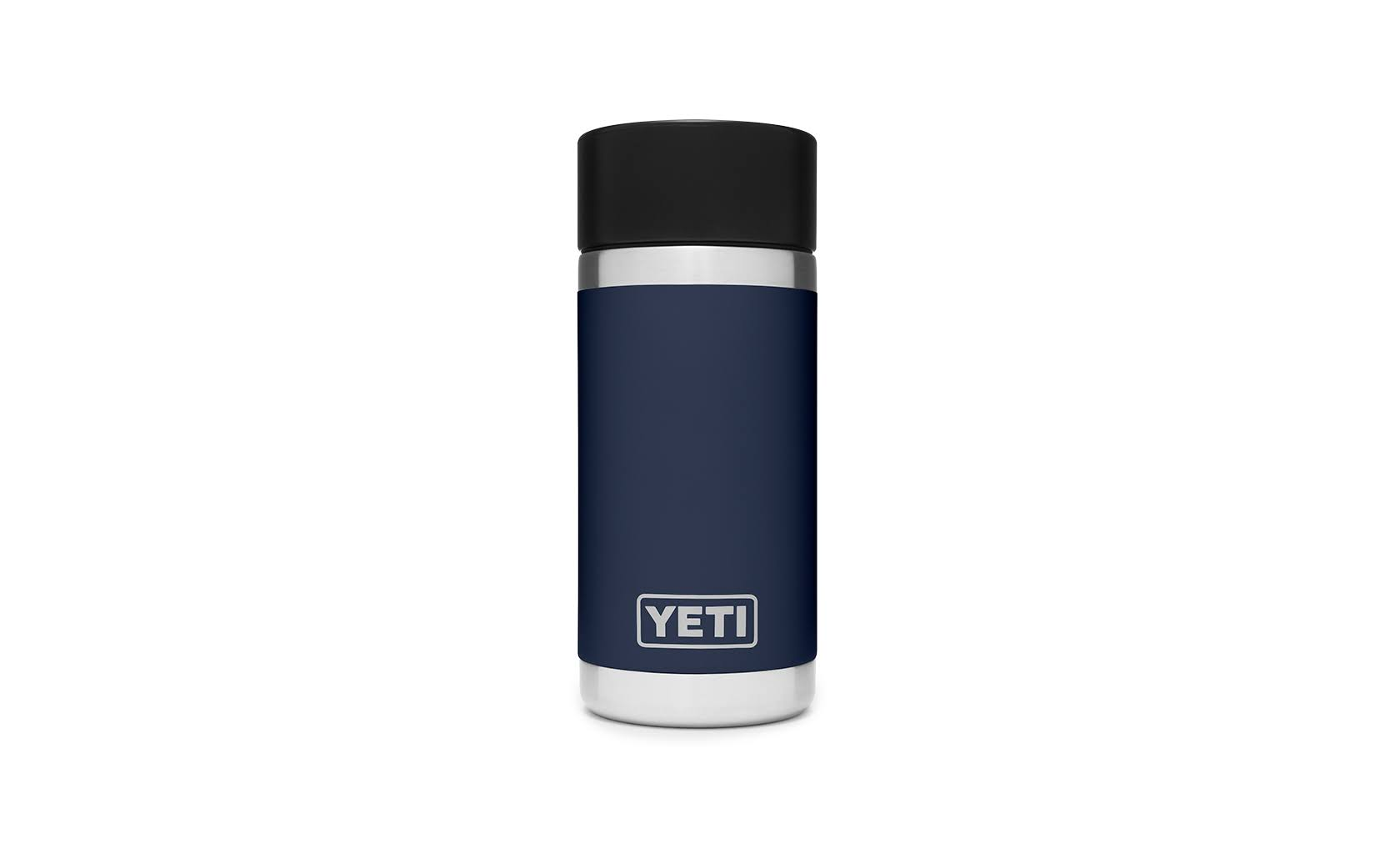 Yeti Rambler Bottle, Navy, 12 Ounce
