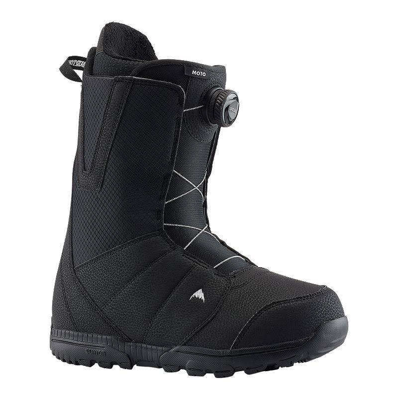 Burton Men's Moto Boa Snowboard Boot, Black, 13