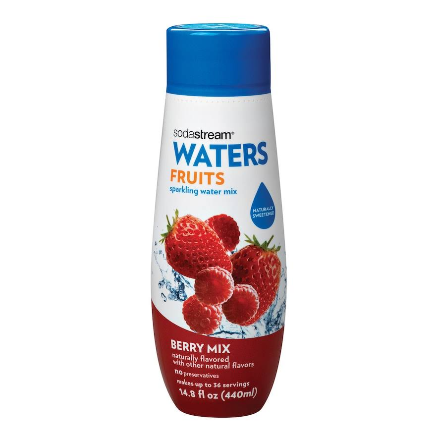 Sodastream Waters Fruits Sparkling Water Mix - Berry Mix, 14.8oz