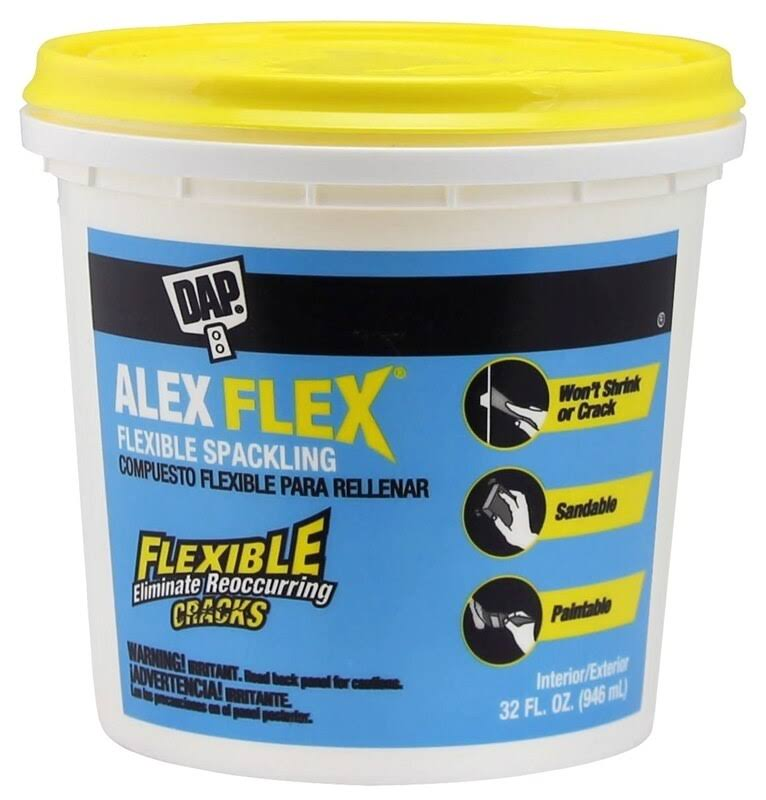 DAP 18743 Alex Flex Flexible Spackling Paste - 32oz
