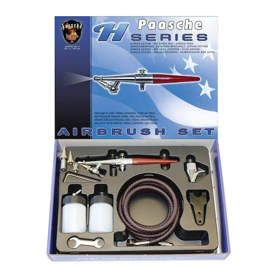 Paasche Single Action H Airbrush Set