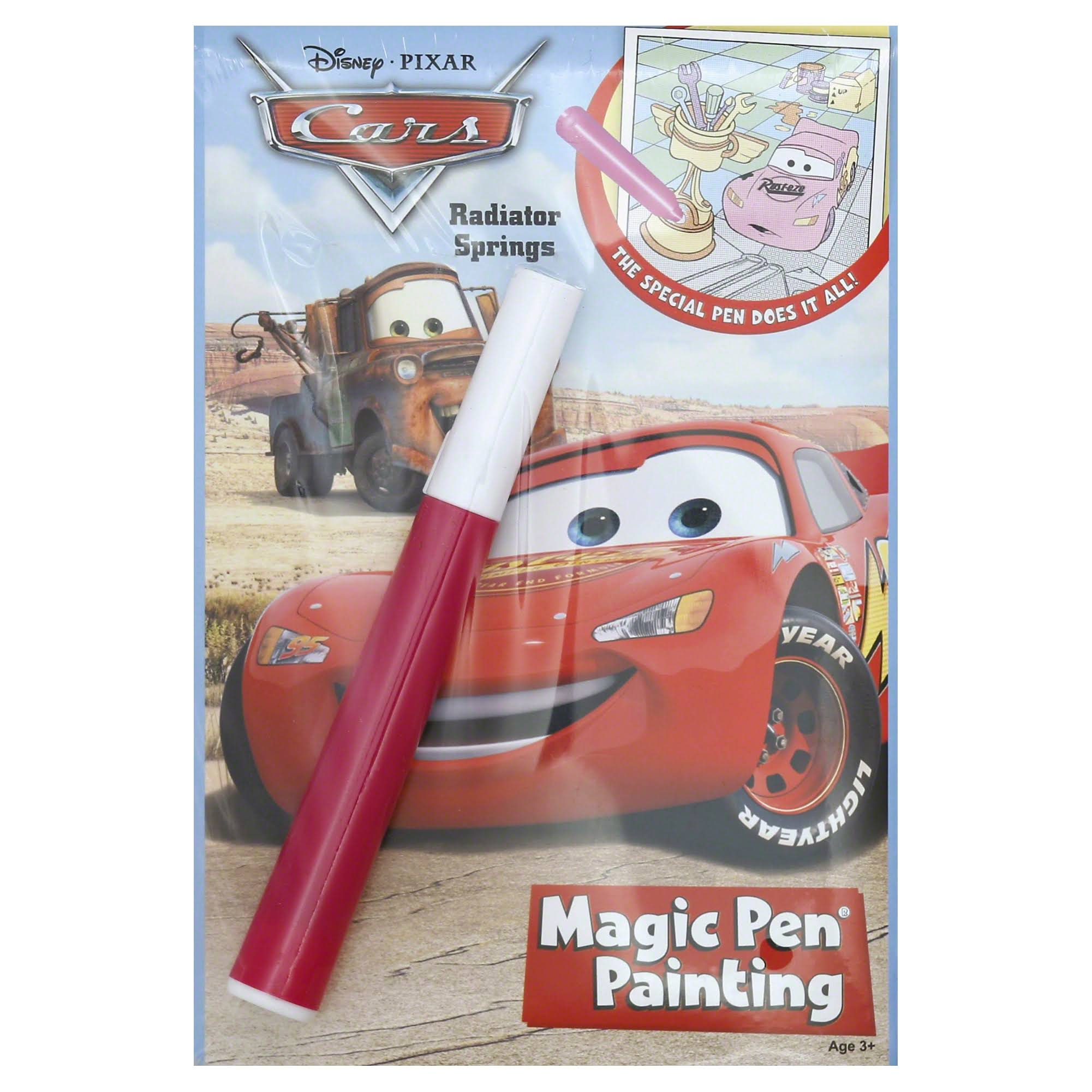 Disney's Cars Magic Pen Painting Book 2