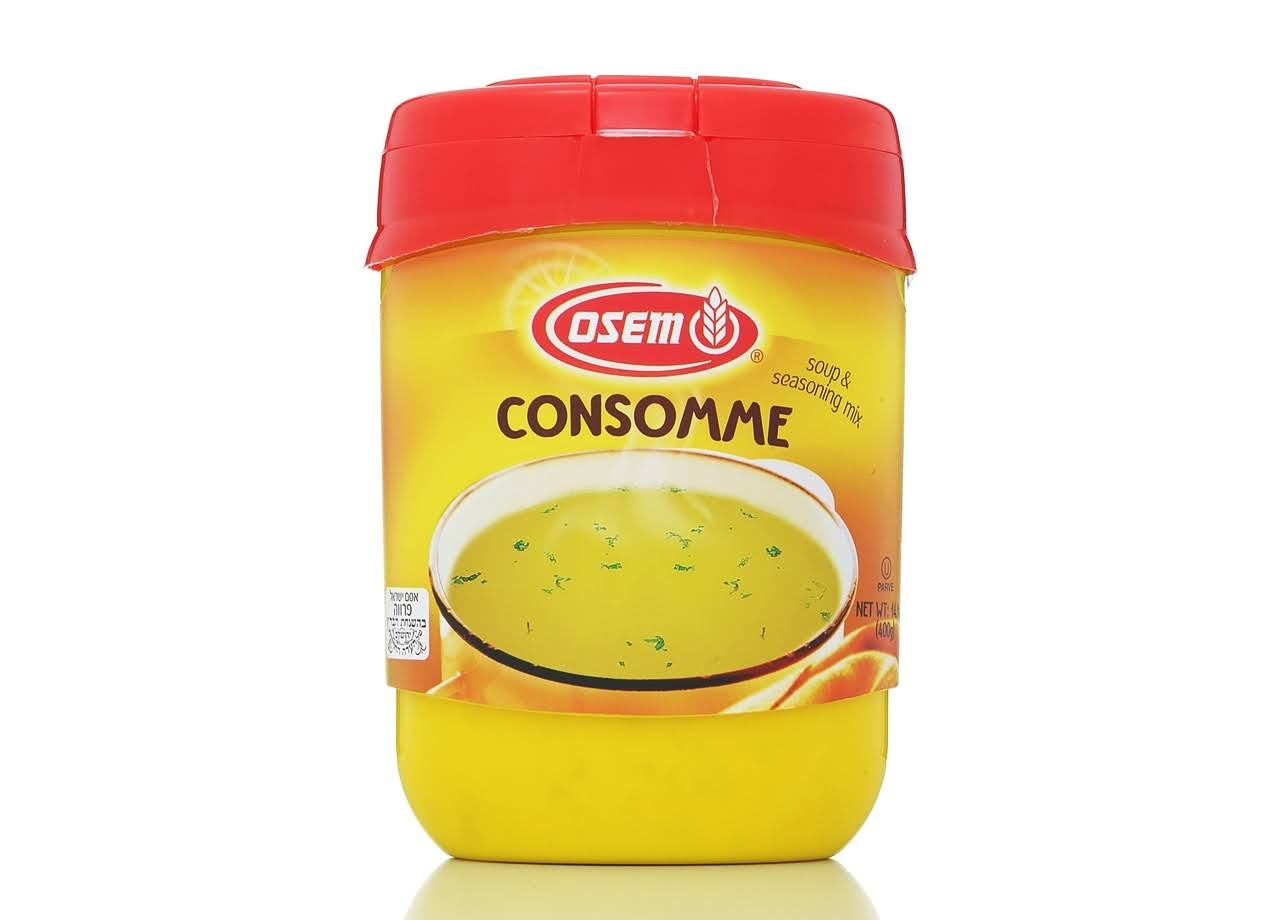 Osem Chicken Style Consomme Instant Soup and Seasoning Mix - 400g