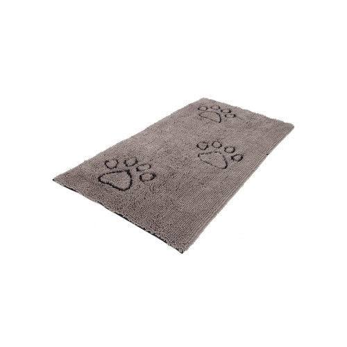 "Dog Gone Smart 60""x30"" Dirty Dog Doormat Runner, Grey"