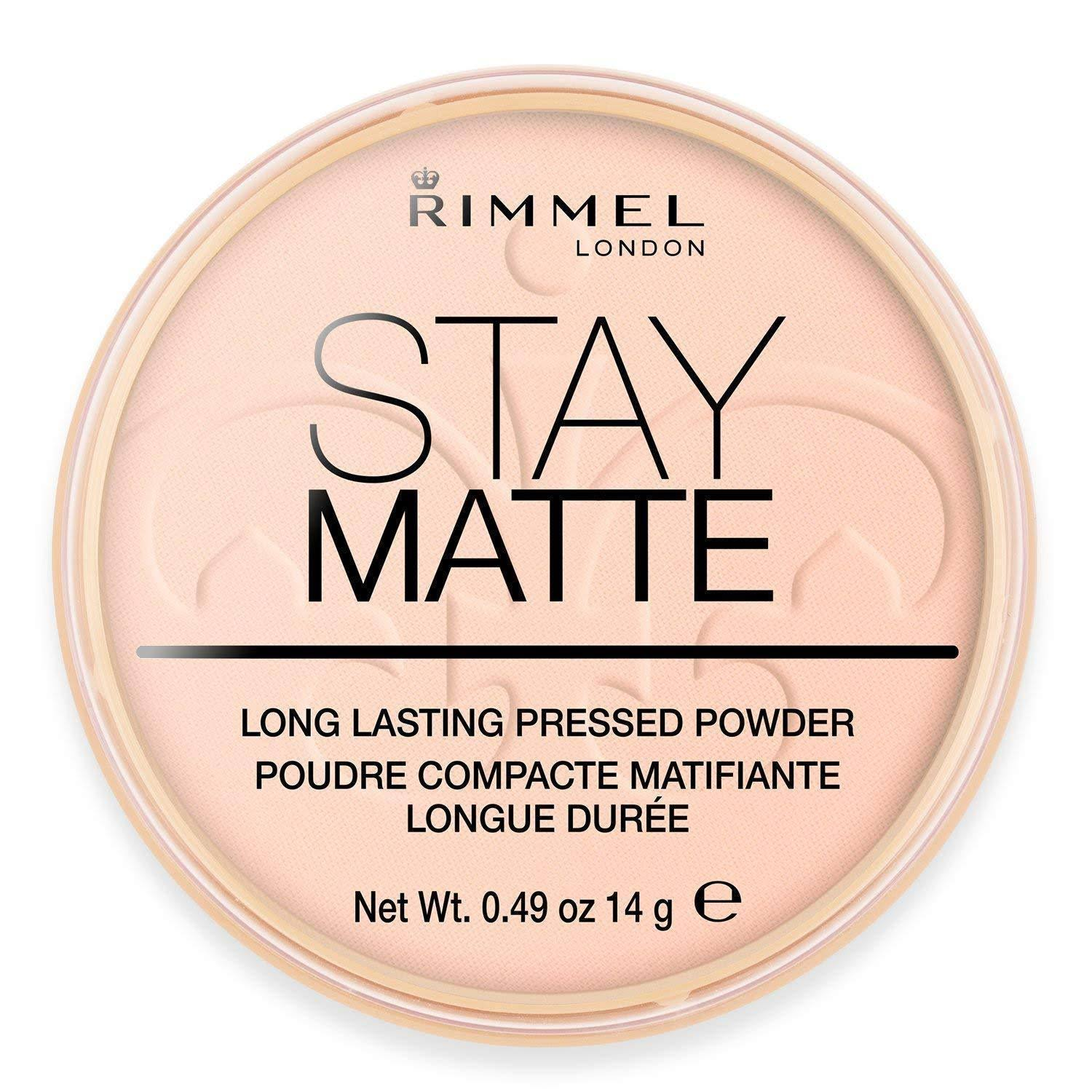 Rimmel London Stay Matte Pressed Powder - 002 Pink Blossom