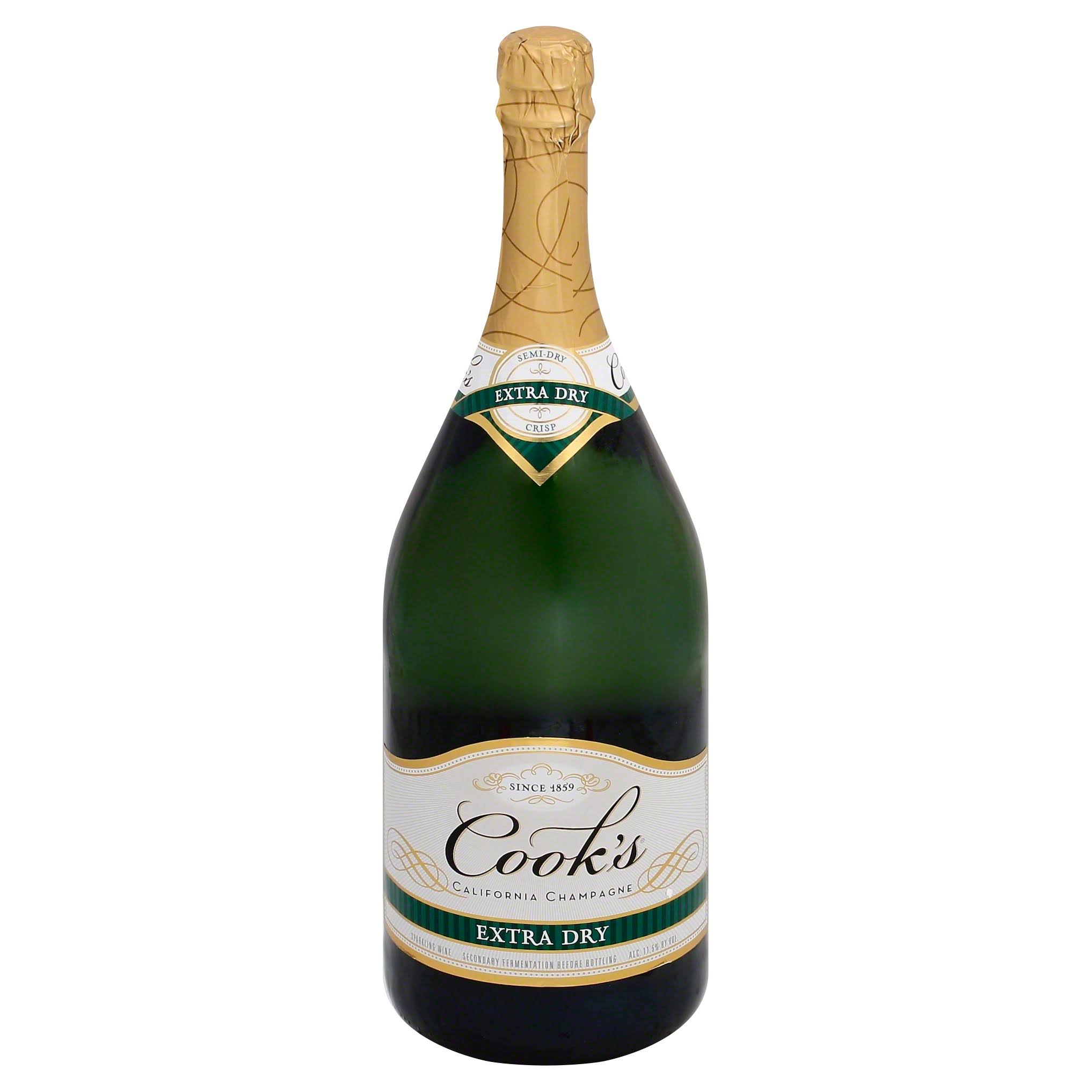 Cook's Extra Dry Champagne - California, USA