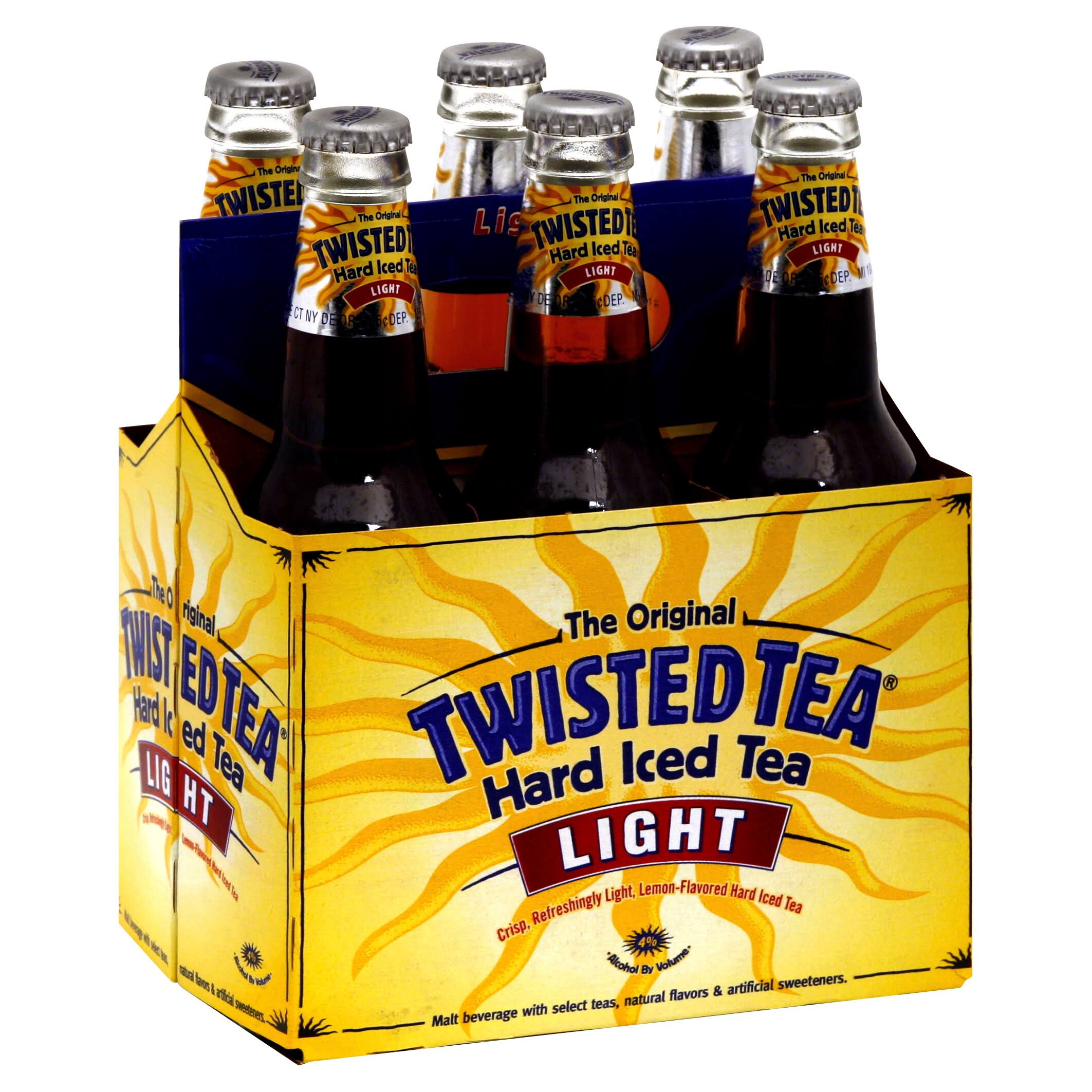 Twisted Tea Hard Light Iced Tea - 6 Pack