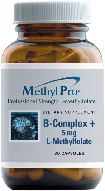 MethylPro L-Methylfolate Quatrefolic 10 mg