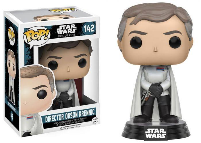 Funko Pop 142 Star Wars Rogue One Director Orson Krennic Vinyl Bobble-Head