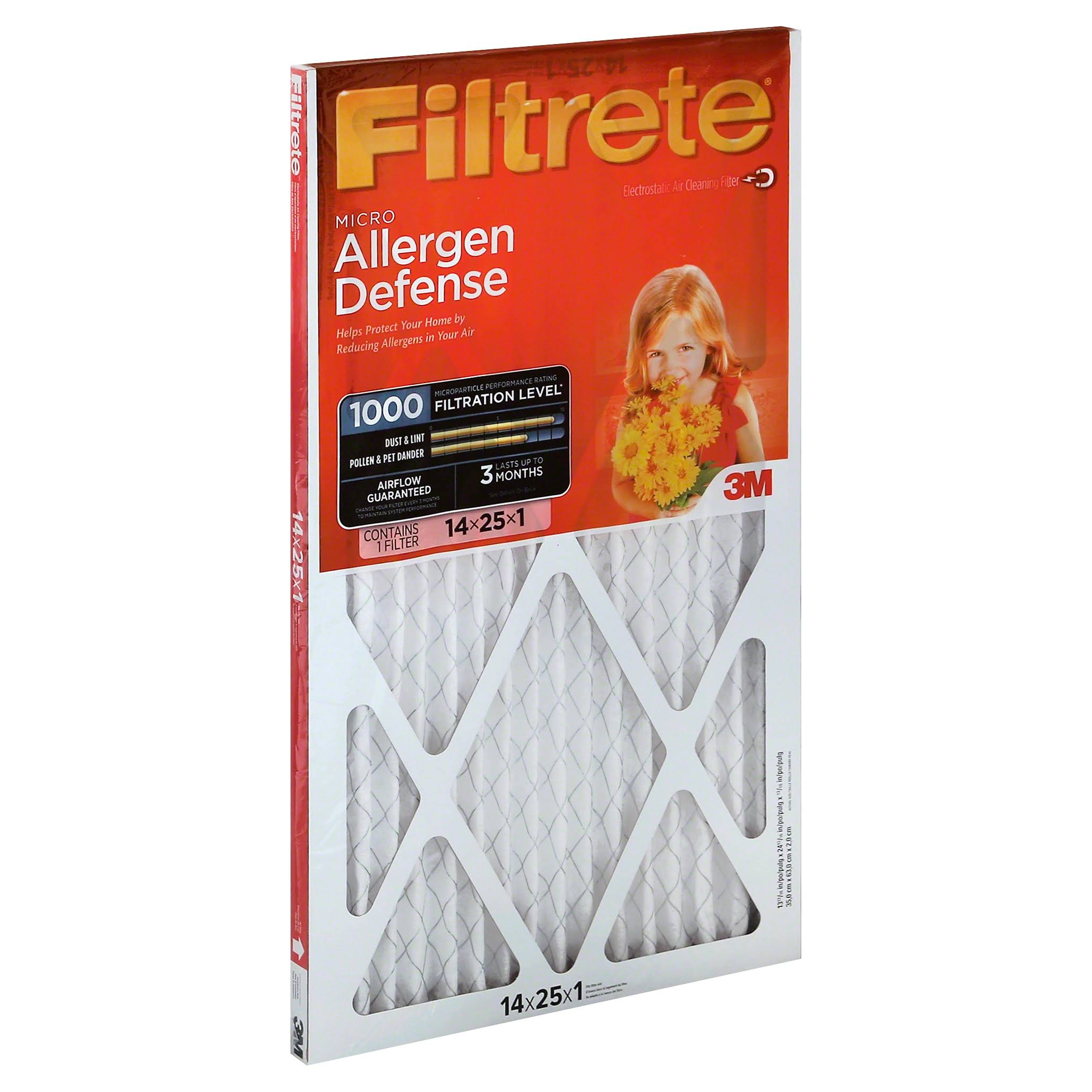 3M Filtrete Allergen Reduction Air Filter
