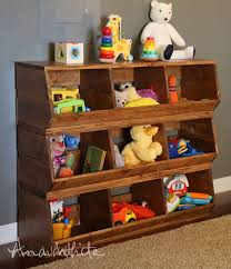 diy how to build wood bins these storage bins would be useful