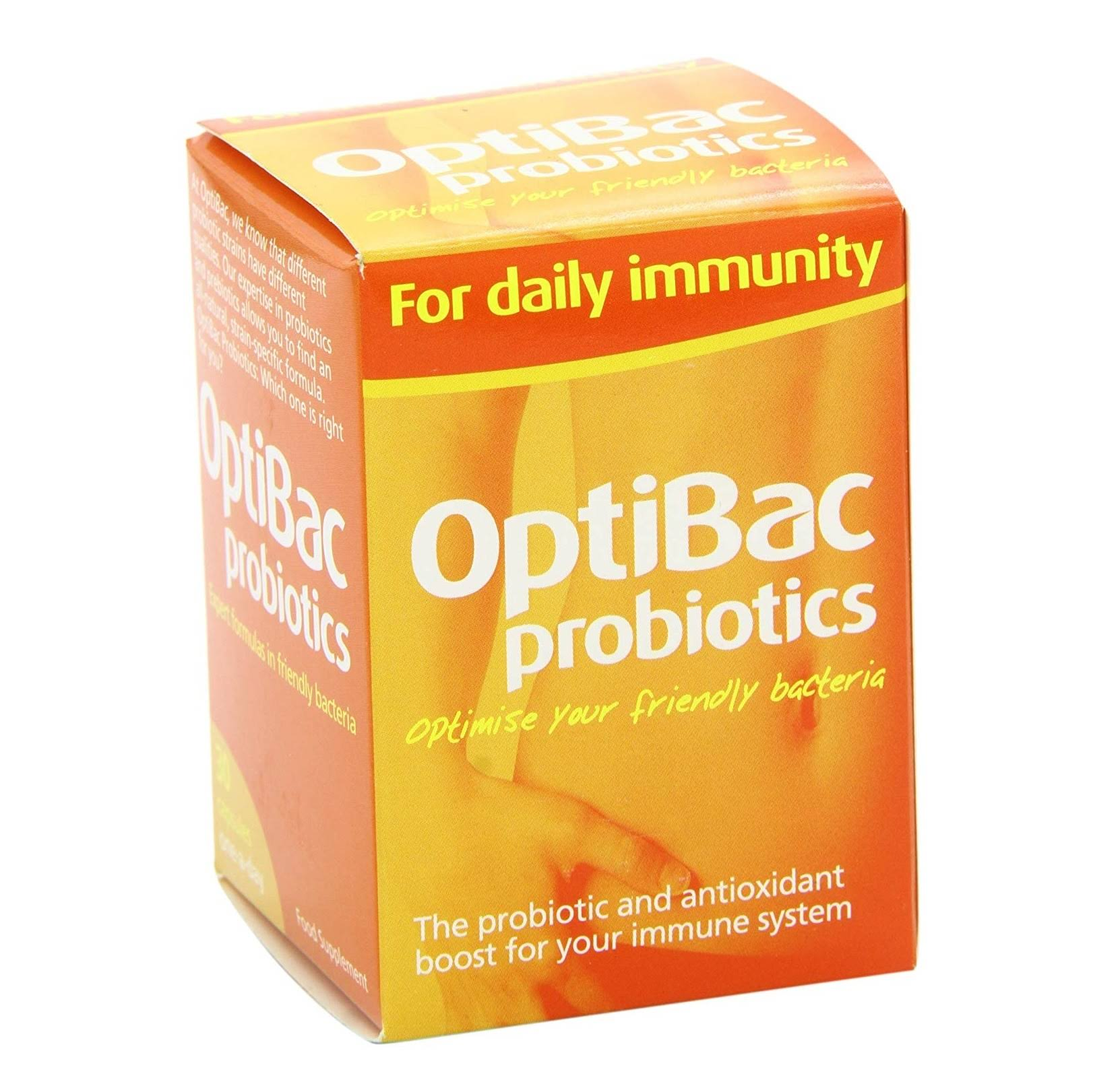 OptiBac Probiotics for Daily Immunity - 30 Pack