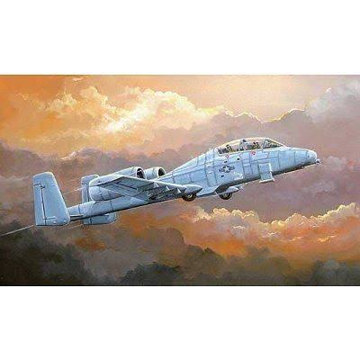 HobbyBoss N AW A 10A Thunderbolt II Aircraft Model Kit - 1:72 Scale