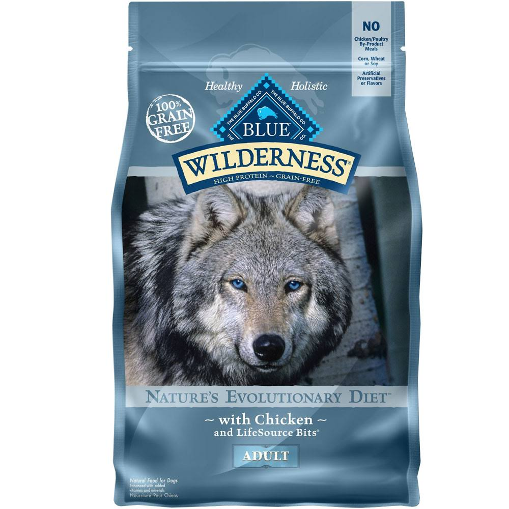 Blue Buffalo Wilderness Adult Dry Dog Food - Chicken