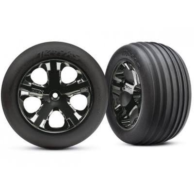 "Traxxas Alias Front Tires - Black, 2.8"", x2"