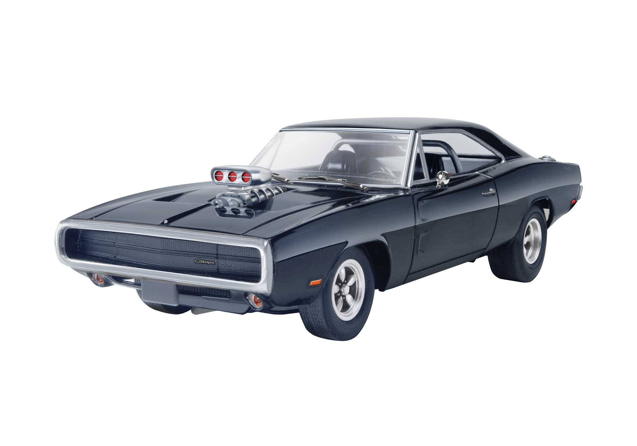 Revell Fast and Furious Dominics 1970 Dodge Charger Plastic Model Kit