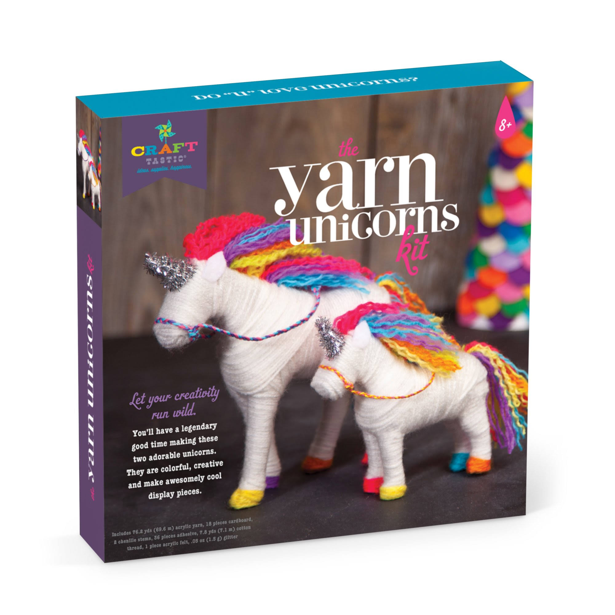 Craft - Tastic Yarn Unicorns Kit