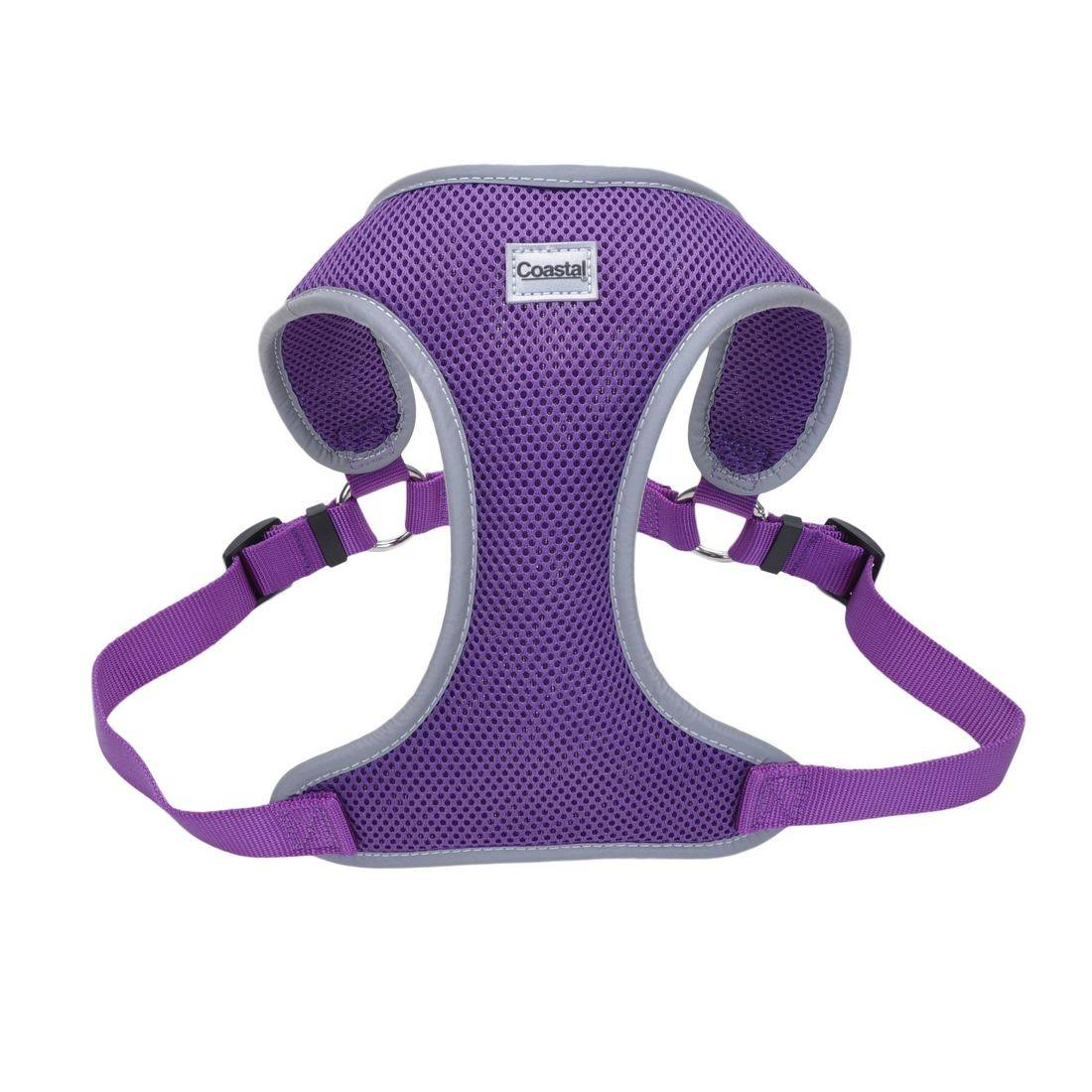 Coastal Pet Mesh Reflective Harness - Purple, Medium