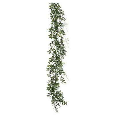 Sullivans Boxwood Garland, Green