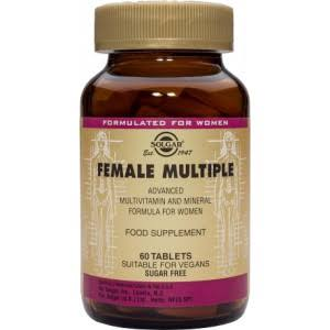 Solgar Female Multiple Advanced Phytonutritient - 60 Tablets