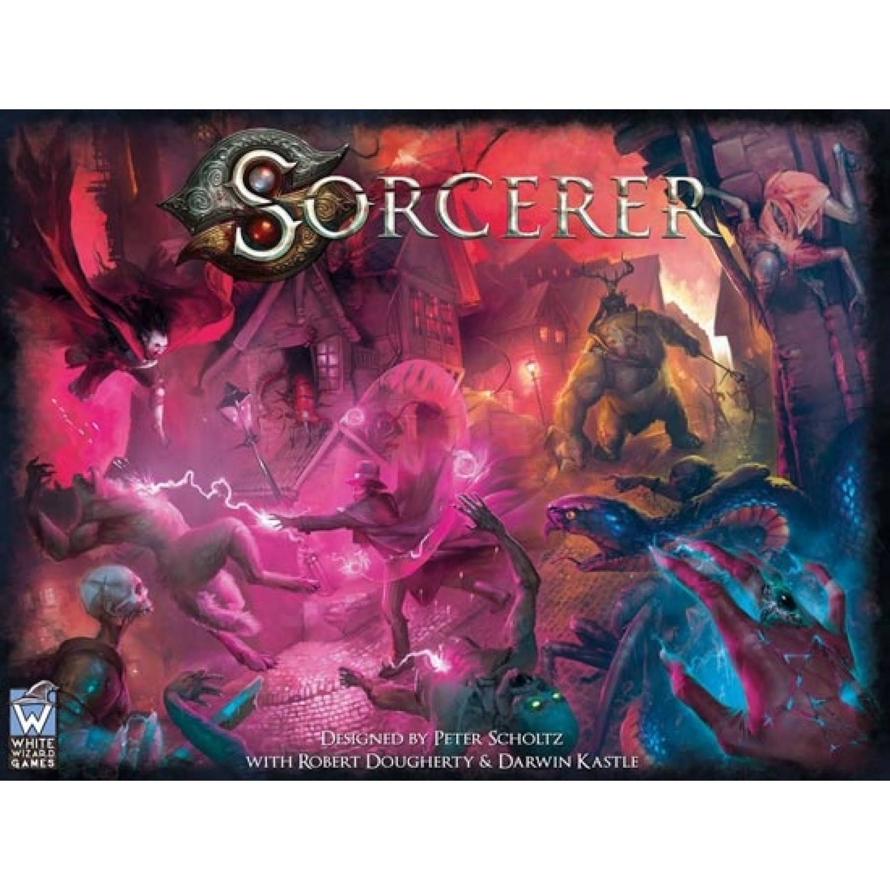 White Wizard Games Sorcerer Board Game