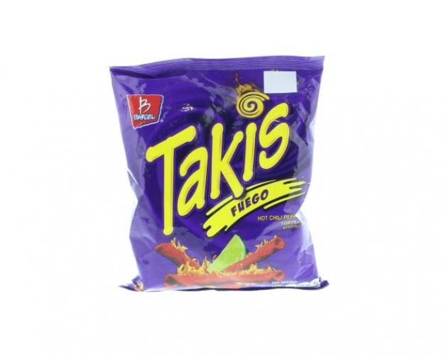 Takis Fuego Tortilla Chips - Hot Chili Pepper & Lime