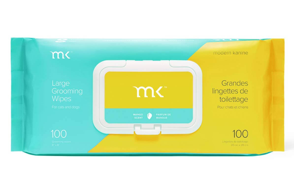 Modern Kanine Mango Pet Grooming Wipes