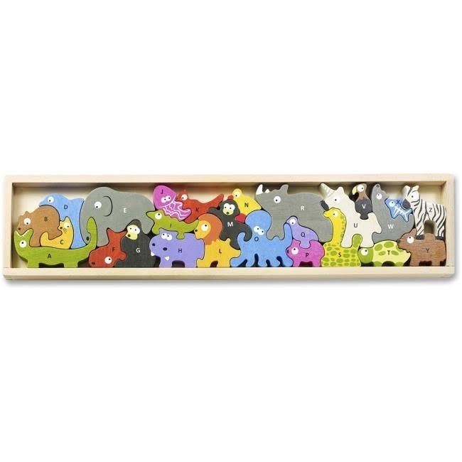 BeginAgain Animal Parade A to Z Puzzle Playset