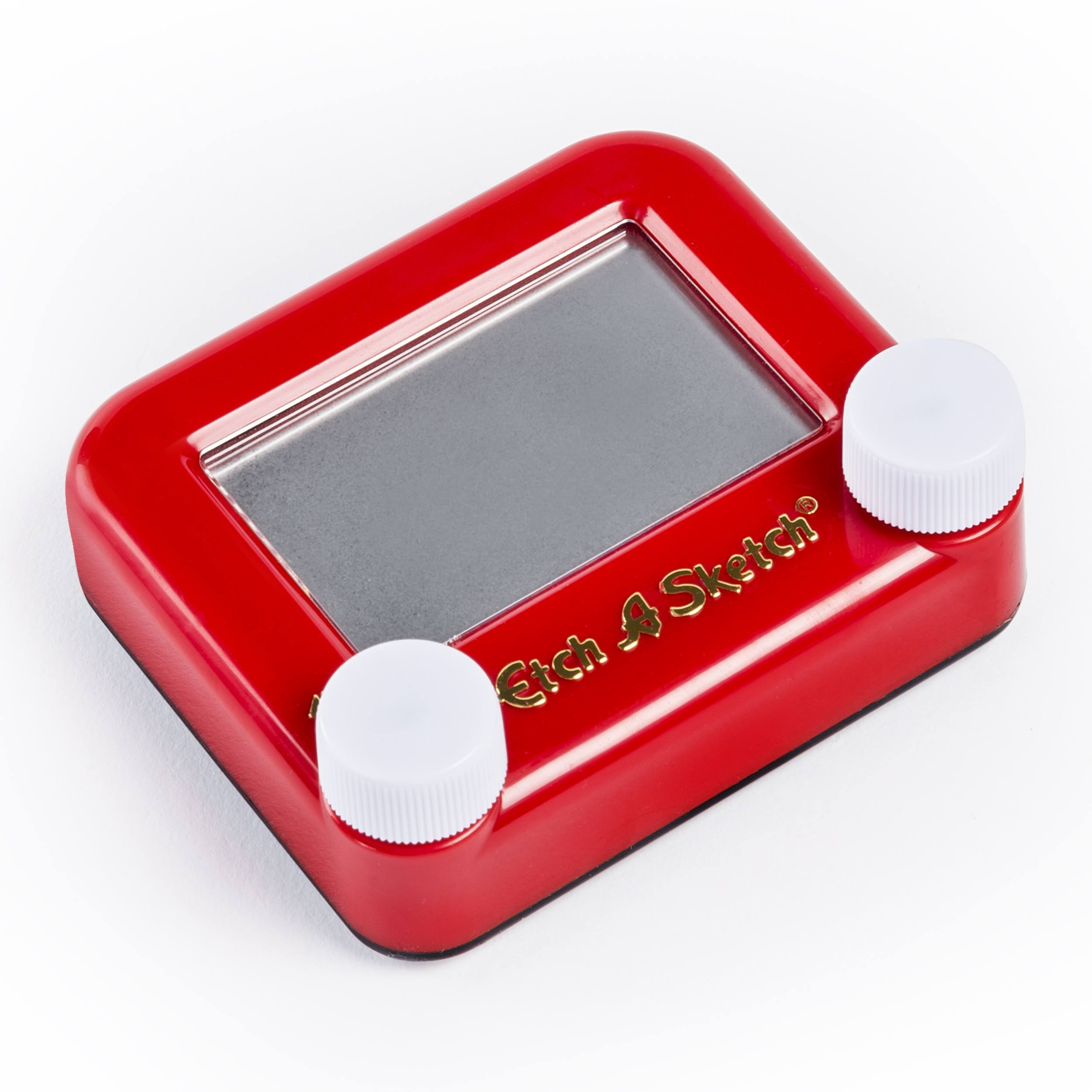 Pocket Etch A Sketch - Red