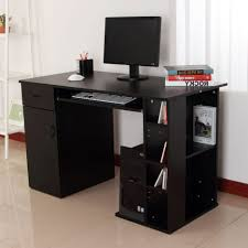 Small Corner Computer Desk Target by Desks Computer Desk With Tower Storage For Stylish Printer Table