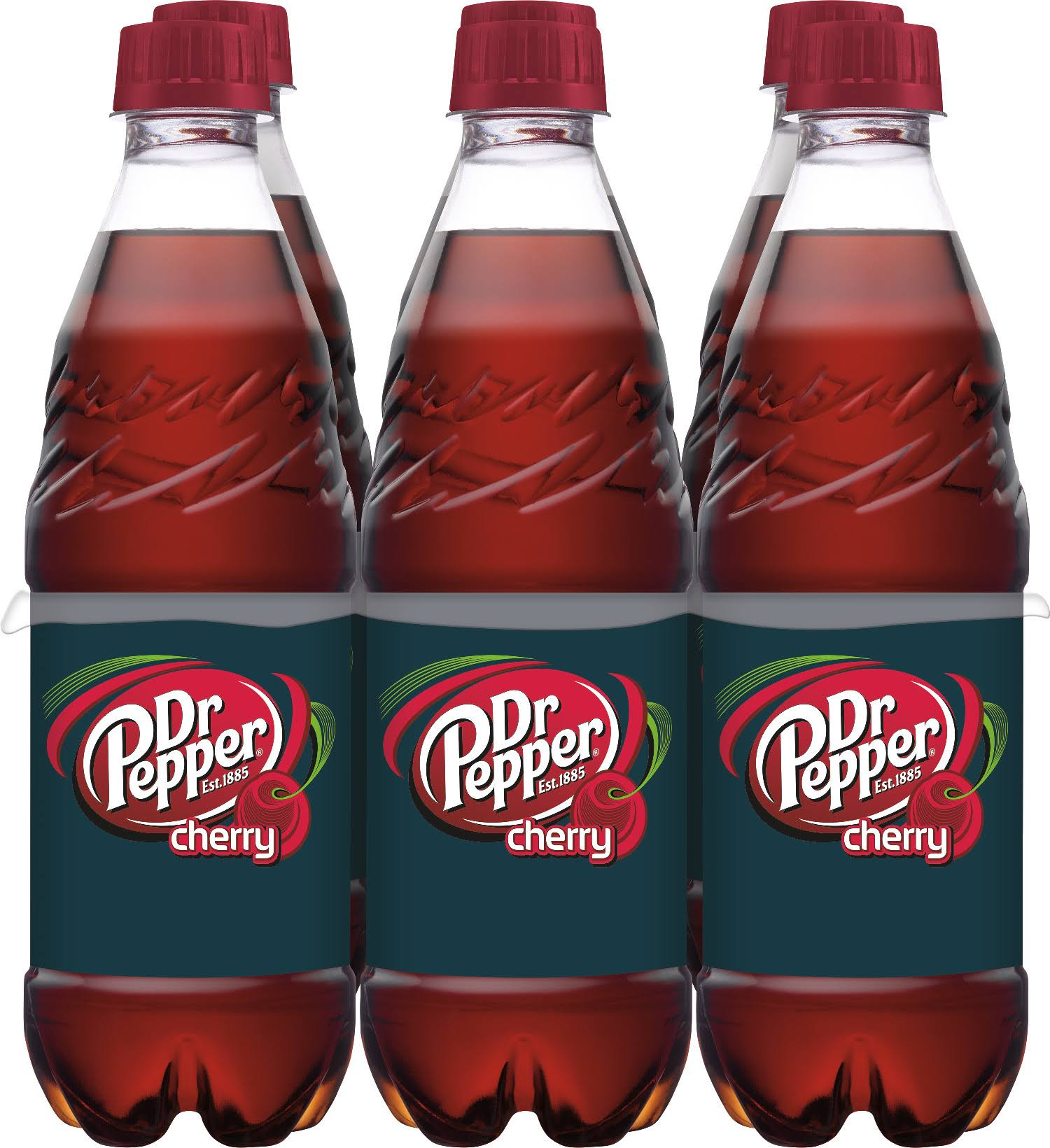 Dr Pepper Cherry Soda - 6 pack, 16.9 fl oz bottles
