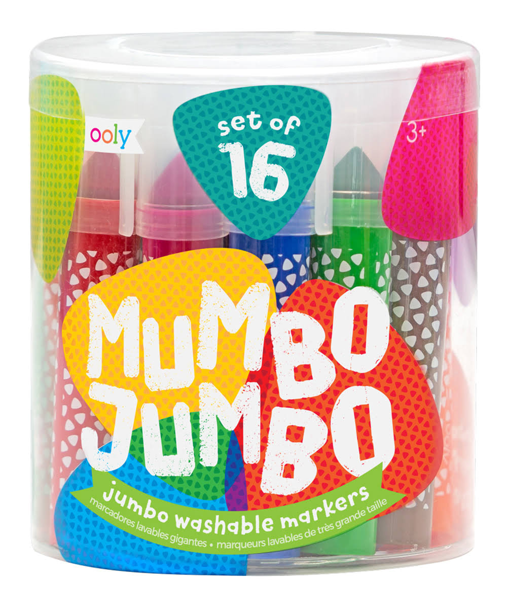 OOLY, Mumbo Jumbo Markers, Set of 16