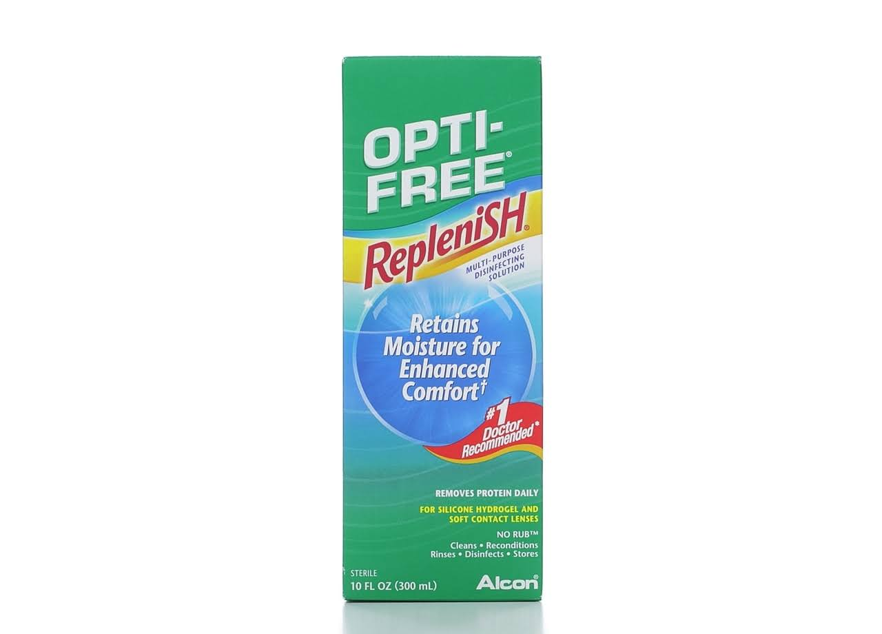 Alcon Opti-Free Replenish Disinfecting Solution - 10oz