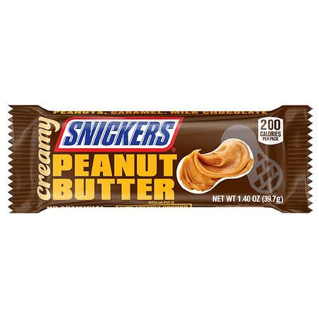 Snickers Peanut Butter Squares, Creamy - 1.40 oz