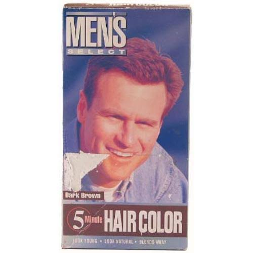 Mens Select 5 Minute Hair Color Dark Brown Hair Dye