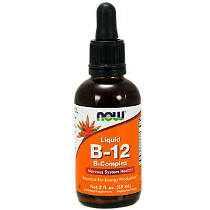 Now Foods Liquid B-12 Supplement - 60ml