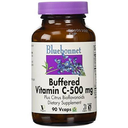 Bluebonnet Buffered Vitamin C-500 mg, 90 ct