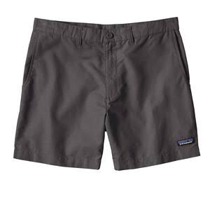 "Patagonia Men's Forge Grey Lightweight All-Wear 6"" Hemp Shorts - 34"