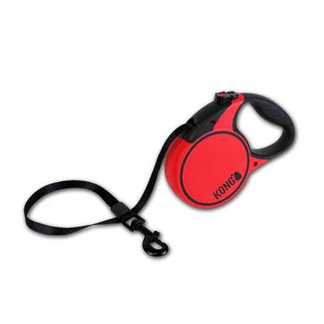 Kong Retractable Leash Terrain - Medium / Red