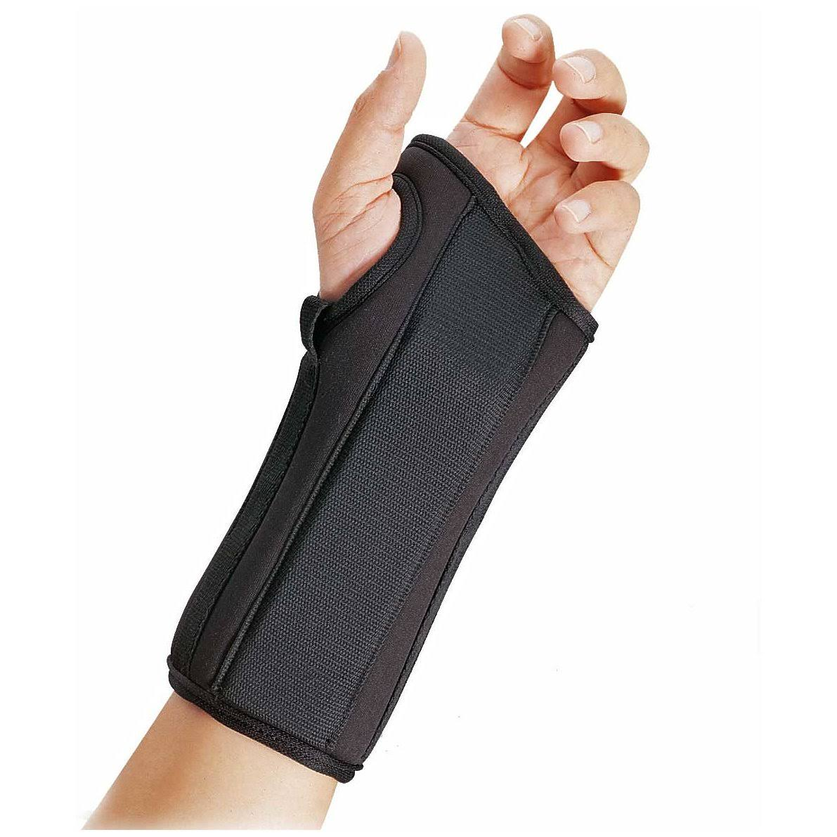 "Fla Pro Lite Orthopedics Wrist Splint - 8"", Medium, Left"