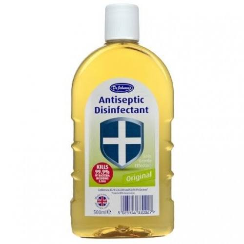 Johnsons Dr Antiseptic Disinfectant Original - Amber