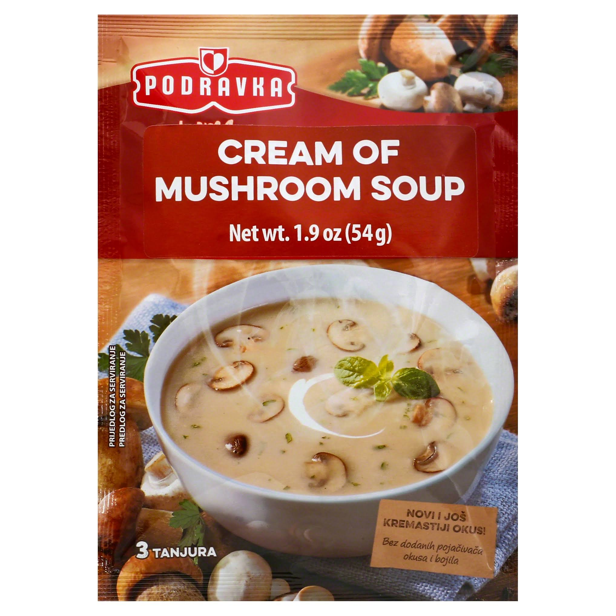 Podravka Soup Mix - Cream Of Mushroom, 70g