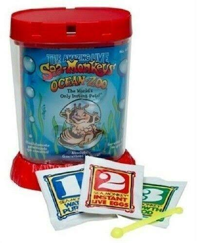 New Amazing Live Sea-Monkeys - Ocean Zoo