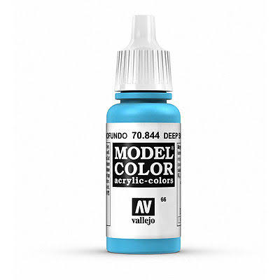 Acrylicos Vallejo Model Color Paint - Deep Sky Blue, 17ml