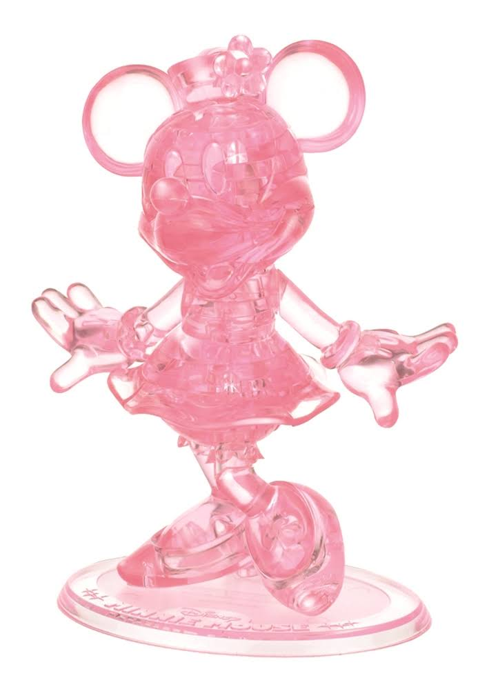 Bepuzzled Original 3D Crystal Puzzle - Minnie Mouse