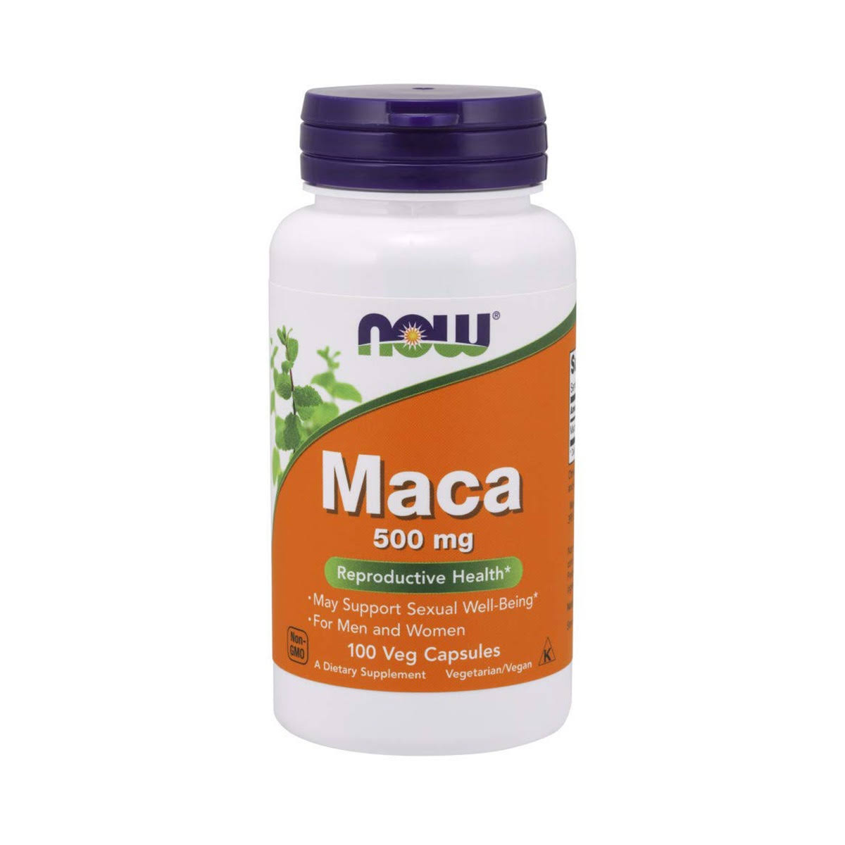 Now Foods Maca 500mg Reproductive Health - 100 Capsules