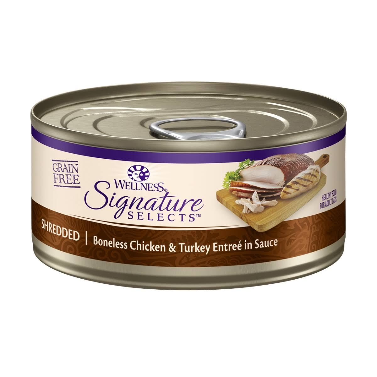 Wellness Signature Selects Chicken and Turkey Sauce Cat Food - 2.8oz
